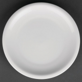 Royal Porcelain Classic White Narrow Rim Plates 170mm (Pack of 12)