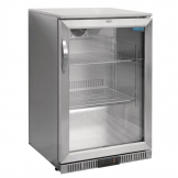 Polar Back Bar Cooler with Hinged Door Stainless Steel 138Ltr