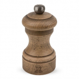 Peugeot Antique Wood Salt Mill 4in