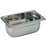 Bourgeat Stainless Steel 1/4 Gastronorm Pan 65mm