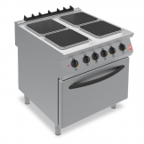 Falcon F900 Four Hotplate Electric Oven Range E9184