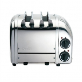 Dualit 2 Slice Vario Sandwich Toaster Polished Finish 21056