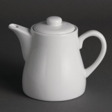 Olympia Whiteware Teapots 483ml (Pack of 4)