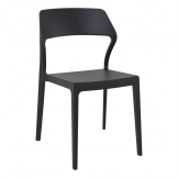 Snow Side Chair - Black