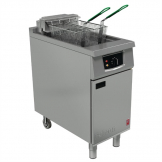 Falcon 400 Series Single Tank Twin Basket Free Standing Electric Fryer E401