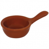 Olympia Mediterranean Pan Shape Miniature Bowls Rustic Brown 115 x 68mm (Pack of 12)