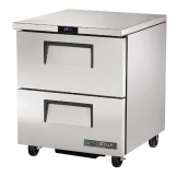 True 2 Drawer Undercounter Freezer TUC-27F-D-2-HC