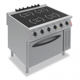 Falcon F900 Four Heat Zone Induction Range i91104