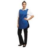 Whites Tabard With Pocket Royal Blue
