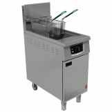 Falcon 400 Series Single Tank Twin Basket Free Standing Natural Gas Fryer G401