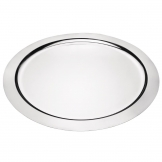 Olympia Stainless Steel Round Food Presentation Tray 350mm