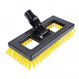 SYR Deck Scrubber Brush Yellow