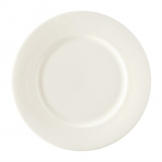 Royal Crown Derby Bark White Flat Rim Plate 215mm (Pack of 6)