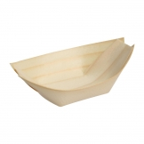 Fiesta Green Biodegradable Wooden Sushi Boats Large 250mm (Pack of 100)
