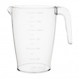 Kristallon Polycarbonate Stacking Jug 1.5ltr