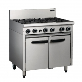 Blue Seal Cobra Propane Gas Oven Range CR9D-LPG