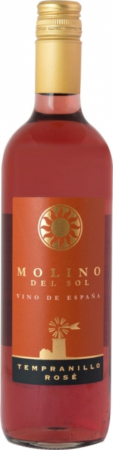Molino del Sol - Tempranillo Rose (75cl Bottle)