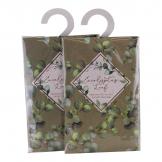 Set of 2 Eucalyptus Leaf Fragranced Sachets, 20gm