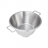 DeBuyer Stainless Steel Conical Colander With Two Handles 36cm