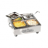 King Edward Small Cold Server Stainless Steel