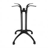 Bolero Cast Iron Decorative Brasserie Table Leg Base