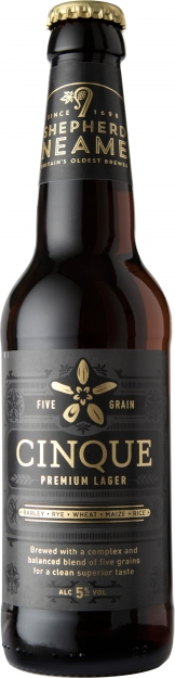 Shepherd Neame - Five Grain Lager (24x 330ml Bottles)
