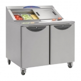 Williams Onyx Double Door Refrigerated Prep Counter 355Ltr CPC2-SS