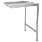 Classeq Pass Through Dishwasher Table Right Hand 650mm