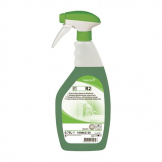 Diversey Room Care R2 Hard Surface Cleaner and Disinfectant Ready To Use 750ml (6 Pack) (Pack of 6)