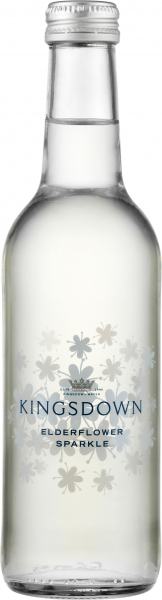 Kingsdown - Elderflower Sparkle (24x 330ml Bottles)