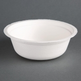 Fiesta Green Compostable Bagasse Bowls 153mm