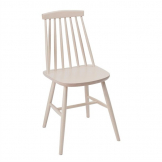 Fameg Farmhouse Angled Side Chairs White (Pack of 2)
