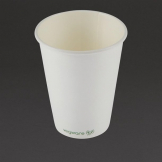 Vegware Compostable Coffee Cups Single Wall 340ml / 12oz (Pack of 1000)