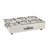 King Edward Large Cold Server Stainless Steel