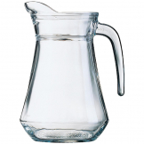 Arcoroc Glass Jugs 1.3Ltr (Pack of 6)