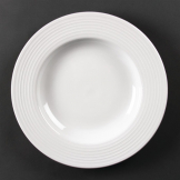 Olympia Linear Pasta Plates 310mm (Pack of 6)