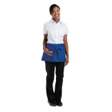 Chef Works Waist Apron Royal