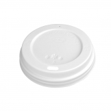 Fiesta Disposable Coffee Cup Lids White 340ml / 12oz and 455ml / 16oz (Pack of 50)