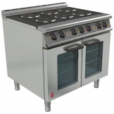Falcon Dominator Plus 6 Hotplate Oven Range with Fan Assisted Oven E3101 OTC