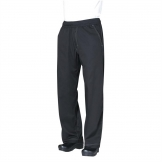 Chef Works Unisex Cool Vent Baggy Chefs Trousers Black S