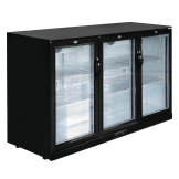 Polar Back Bar Cooler with Hinged Doors 320Ltr