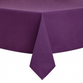 Essentials Occasions Tablecloth Purple 90 x 90cm (120 TC, Polyester)