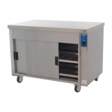 Moffat Plain Top Eco Hot Cupboard Heavy Duty HC3E
