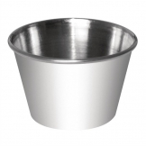 Dipping Pot Stainless Steel 230ml (Pack of 12)