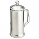 Olympia  Satin Finish Stainless Steel Cafetiere 8 Cup