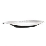 APS Dual Tone Leaf Platter 14in