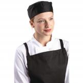 Whites Chefs Skull Cap Polycotton Black - M