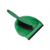 Jantex Soft Dustpan and Brush Set Green