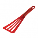 "Matfer Pelton Exoglass Spatula 12"" Red"