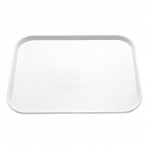 Kristallon Large Plastic Fast Food Tray White 450mm